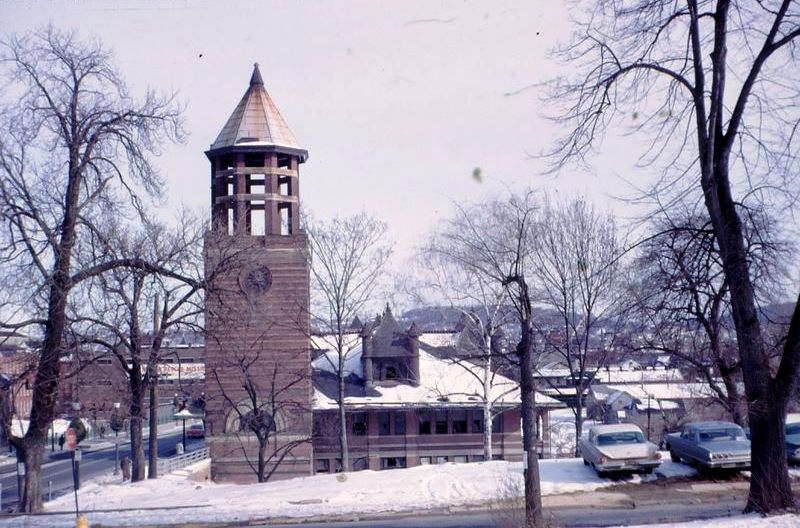 Allentown, Pa.  Station Winter